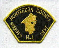 Sheriff: NJ, Hunterdon Co. Sheriffs Dept. Patch