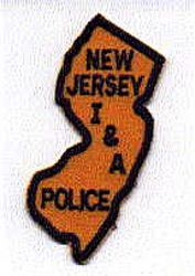 I & A Police Patch (NJ)