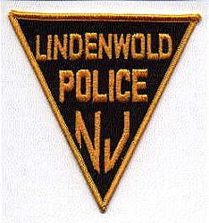 Lindenwold Police Patch (black/gold) (NJ)