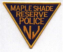 Maple Shade Reserve Police Patch (NJ)