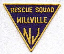 Millville Rescue Squad Patch (NJ)