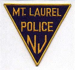 Mt. Laurel Police Patch (triangle) (NJ)