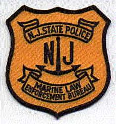 State: NJ, State Police Marine Law Enforcement Patch