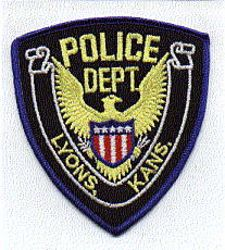 Lyons Police Patch (KS)
