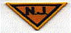 "State: NJ, State Police Patch (lapel patch ""NJ"")"