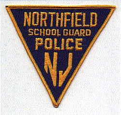 School: NJ, Northfield School Guard Police Patch