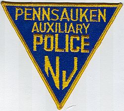 Pennsauken Aux. Police Patch (NJ)