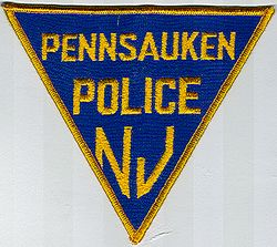 Pennsauken Police Patch (blue/gold)(NJ)