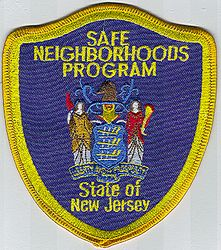 Safe Neighborhoods Program Patch (NJ)