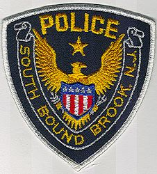 South Bound Brook Police Patch (white edge) (NJ)