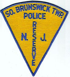 South Brunswick Twp. Reserve Police Patch (NJ)