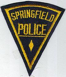 Springfield Police Patch (MA)