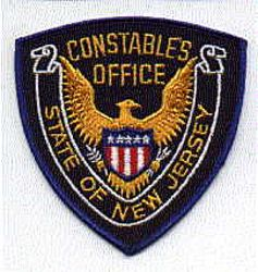 State: NJ, Constables Office Patch (NJ)