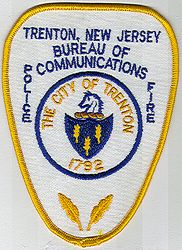 Trenton Bureau of Communication Police Patch (NJ)