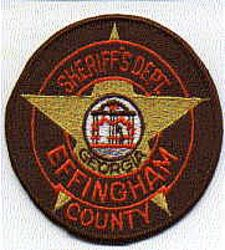 Sheriff: GA, Effingham Co. Sherrifs Dept. Patch