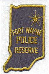 Fort Wayne Police Reserve Patch (IN)