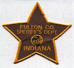 Sheriff: IN, Fulton Co. Sheriffs Dept. Patch
