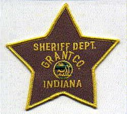 Sheriff: IN, Grant Co. Sheriffs Dept. Patch