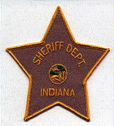 Sheriff: IN, Indiana Sheriffs Dept. Patch