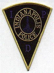 Indianapolis Police Patch (IN)