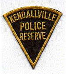 Kendallville Police Reserve Patch (cap size) (IN)