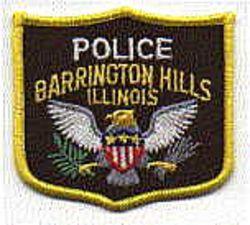 Barrington Hills Police Patch (cap badge) (IL)