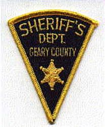 Sheriff: KS, Geary Co. Sheriffs Dept. Patch