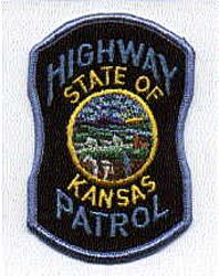 State: KS, Highway Patrol Patch (felt)