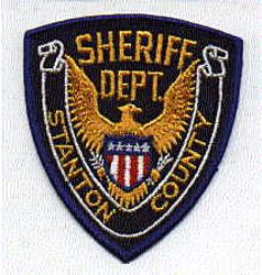 Sheriff: KS, Stanton Co. Sheriffs Dept. Patch