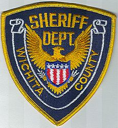 Sheriff: KS, Wichita Co. Sheriffs Dept. Patch