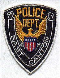 East Canton Police Patch (white edge) (OH)