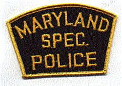 Maryland Special Police Patch (MD)