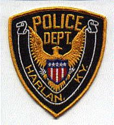 Harlan Police Patch (KY)