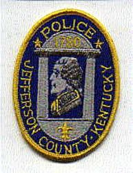 Jefferson Co. Police Patch (facing left) (KY)