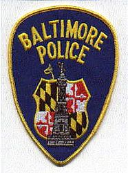 Baltimore Police Patch (MD)