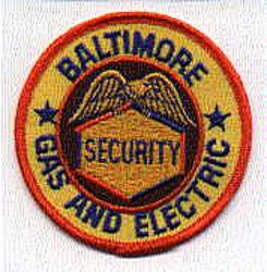 Baltimore Gas & Electric Security Patch (MD)