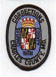 Charles Co. Corrections Patch (MD)