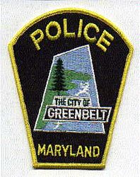 Greenbelt Police Patch (MD)