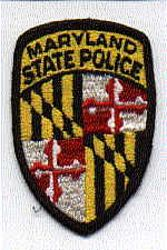 State: MD, State Police Patch