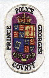 Prince Georges Co. Police Patch (white edge)(MD)
