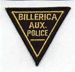 Billerica Aux. Patch (MA)