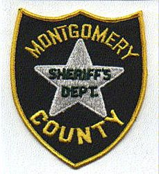 Sheriff: MS, Montgomery Co. Sheriffs Dept. Patch (green/yellow)
