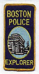 Boston Police Explorer Patch (MA)