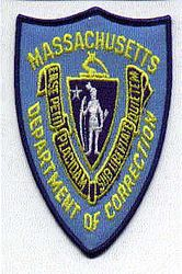 Dept. of Corrections Patch (MA)