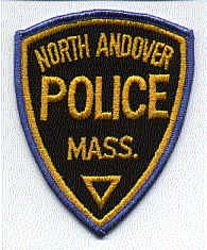 North Andover Police Patch (blue edge) (MA)