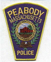 Peabody Police Patch (MA)