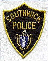 Southwick Police Patch (yellow/black) (MA)