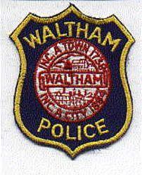 Waltham Police Patch (MA)