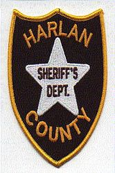 Sheriff: NE, Harlan Co. Sheriffs Dept. Patch