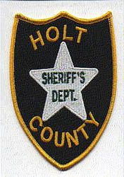 Sheriff: NE, Holt Co. Sheriffs Dept. Patch